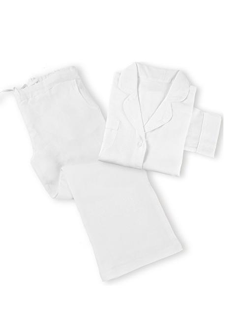 Casual Avenue Pijama Takım Beyaz